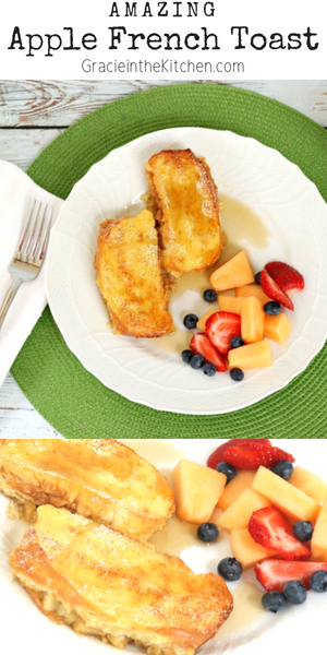 The BEST Apple French Toast Recipe for a crowd!