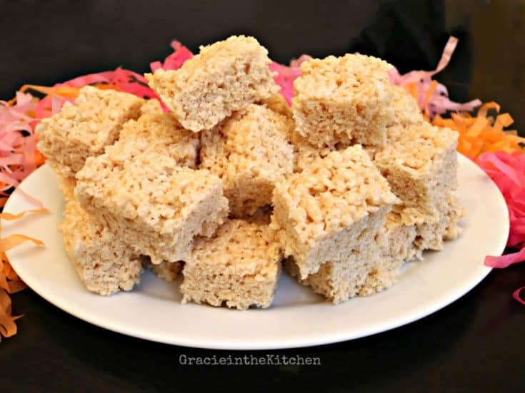 Easy and Delicious Rice Krispies Treats recipe! So easy!