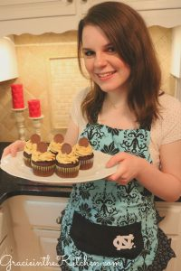 Gracie in the Kitchen- Favorite Chocolate Peanut Butter Cupcakes