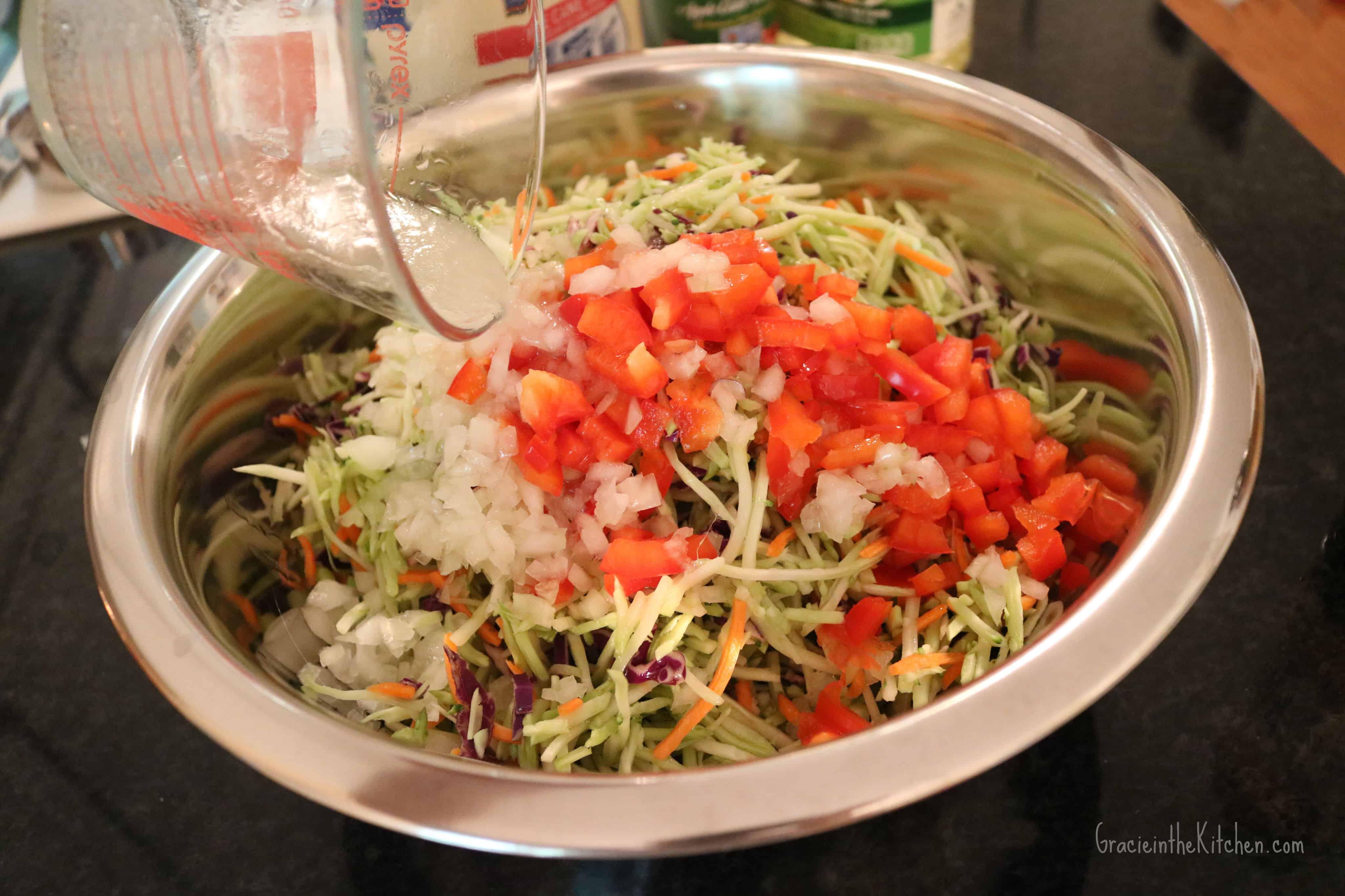 Broccoli Slaw Recipe- Always a crowd pleaser!