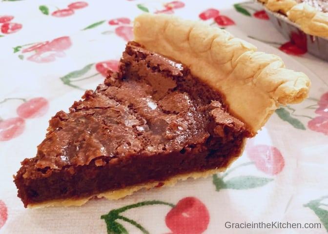 This Easy Fudge Pie recipe is the best!