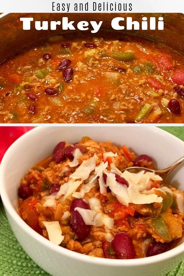 Easy and Delicious Turkey Chili