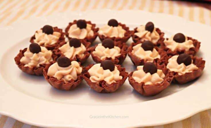 Whipped Peanut Butter Cream Cheese Cups