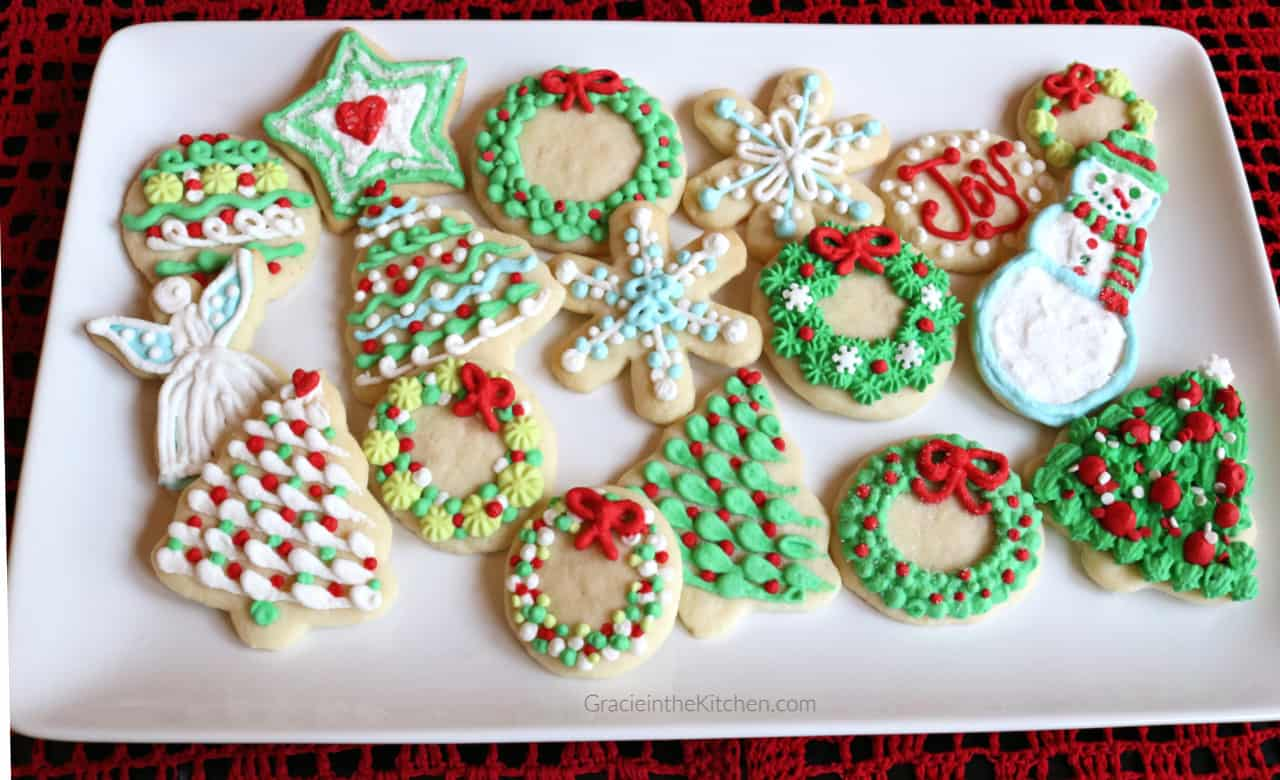 Easy and Delicious Sugar Cookies- So delicious and perfect for decorating!