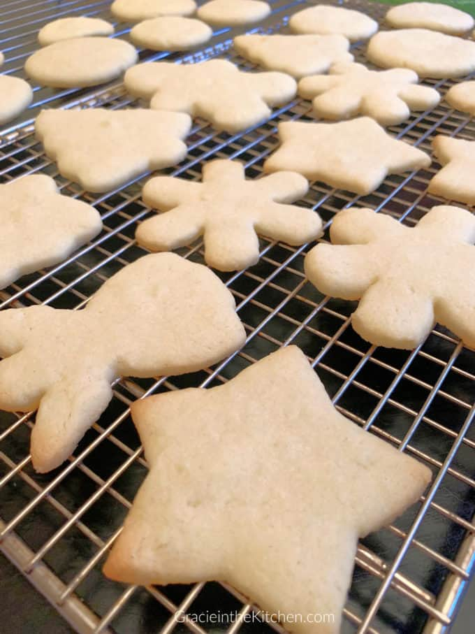 Easy Sugar Cookies- This Recipe is the best! Perfect for decorating!