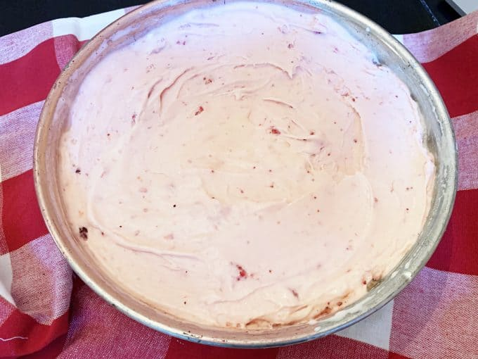 Neapolitan Oreo Ice Cream Cake